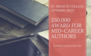 2019 St. Francis College Literary Prize on My Essay Search
